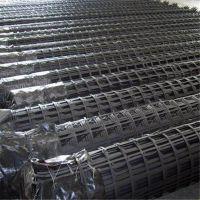 山东厂家批发双向50钢塑格栅耐腐蚀高强钢塑格栅