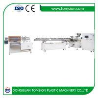 拓森TS45 高产能双色螺旋管挤出生产线 饮料吸管挤出机 插花管机器 双色吸管押出机