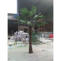 松涛仿真蒲葵树热带风情仿真树厂家直销 人造棕榈树定制