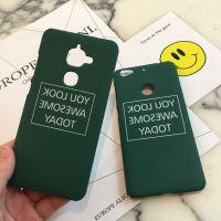 墨绿镜面英文乐视1s手机壳乐2pro保护套max2超薄磨砂防摔壳潮男女