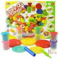 可爱QQ糖3D彩泥带制作工具 儿童益智DIY桌面玩具批发
