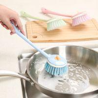 长柄清洁洗锅刷多功能可拆卸厨房不粘油塑料刷锅刷子洗碗刷批发
