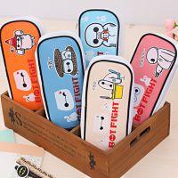 爱奇大胖pu文具盒 韩版创意大容量笔袋 男女学生文具盒 文具盒