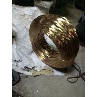 厂家直销高强度镀铜钢丝 镀黄铜弹簧钢丝