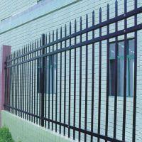 厂区围墙护栏 防盗双反头锌钢护栏 围墙栏杆