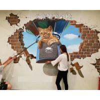 墙体彩绘,壁画,手绘墙,3D立体画