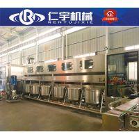 五加仑灌装线 桶装水灌装机 桶装水灌装生产线