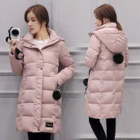 质量保证外套女反季棉衣女中长款学生女装韩版加厚棉服冬装女冬季