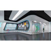 平顶山生物科技展厅设计,平顶山合一康生物科技展厅设计案例
