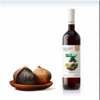 黑蒜酒 750ml,12.5度,纯发酵酒,御鸿园 黑大蒜酒