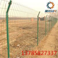 绿色铁丝双边丝护栏网 圈地果园养殖护栏网 高速公路护栏