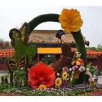 人物绿雕定制 成都仿真植物雕塑造型制作厂家