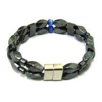 天然淡水珍珠强力磁铁扣手链手镯 多层珍珠编织手链饰品 地摊货源