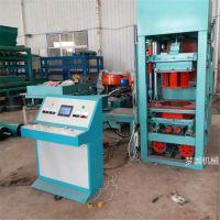 QT4-15型水泥砖机多少钱一台 全自动透水砖生产线 植草砖机