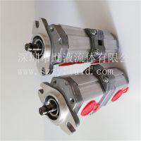 Marzocchi双联泵ALPA1A-D-9-FG+ALPP1-D-2-FG平键轴安装,深圳助液现货