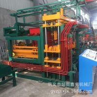 全自动水泥砖机 6-15型混凝土免烧砖机 盲道植草通用砌块机设备