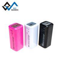 新款应急充电器干电池手机带LED灯5号电池应急充电转接迷你充电器