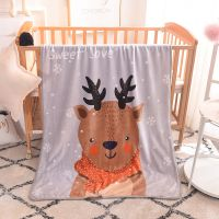 幼儿园儿童小毛毯卡通外贸兰绒毛毯护膝毯空调午睡毯休闲毯子批发