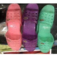 塑胶女拖鞋,多色入