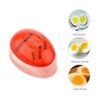 创意迷你厨房用品egg timer 水煮鸡蛋生熟观测器 变色煮蛋计时器
