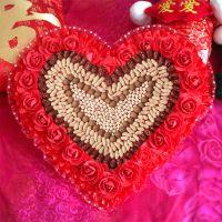 热卖人气婚庆早生贵子模板结婚用品婚房装饰床上摆件干果枣摆放