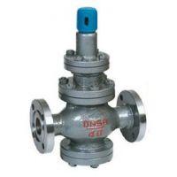 水空气薄膜式法兰减压阀 Y42X/F/SD碳钢水减压阀