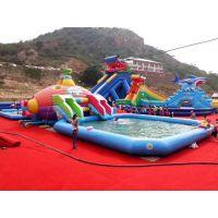 吉林藏龙游乐大型充气水滑梯生产