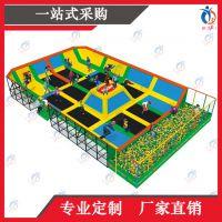 上海聚巧游乐厂家定制大型蹦床公园乐园