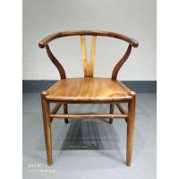 胡桃木Y椅新中式休闲椅茶台客椅办公椅餐椅批发