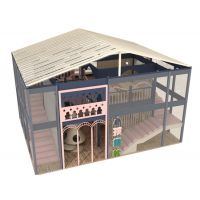 智多宝儿童乐园(图)-大型淘气堡加盟品牌-西安大型淘气堡加盟