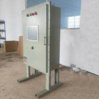 7寸工业触摸屏PLC铁皮防爆控制电箱