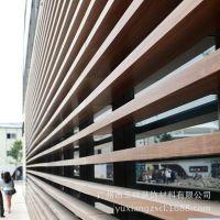 济南工程铝方通吊顶 50*50户外幕墙装饰条形氟碳铝方通厂家定制