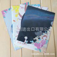 韩国文具批发 花与星空彩色夹 | 文件夹 | L夹 | 资料夹