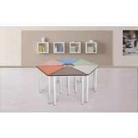 长春拼装六角桌厂家定制设计