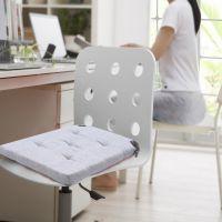 冬天办公室坐垫椅子餐桌椅垫子加厚座椅垫汽车电脑椅学生凳子座垫