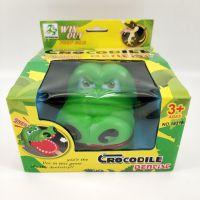仿真小鳄鱼模型玩具 整蛊发泄搪胶爬行动物 鳄鱼公仔儿童益智玩具