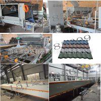 生产加工 镀铝锌彩石瓦压瓦机隔音耐腐蚀彩石瓦生产加工设备