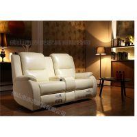 厂家直销家庭影院沙发 多功能组合座椅 USB电动可伸展VIP影院沙发顺德工厂