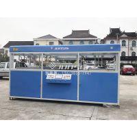 厚片吸塑机 双工位双人工型使用设备 骏精赛厂家自主研发设备 精密加工定制机