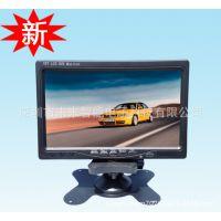 LCD DVR车载录像屏 带屏的DVR 支持两路DVR录像显示器 录像液晶屏