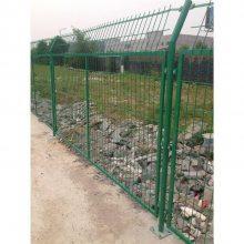 广州公路护栏网厂家 三角折弯护栏网 围墙铁丝护栏网