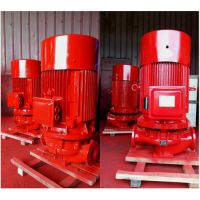泵房测试消防泵扬程XBD10.0/10-65L立式加压泵 消火栓泵选型