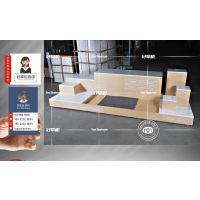 小米授权指定供应商,小AI中岛展示柜台可定制尺寸