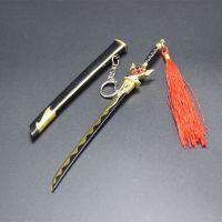 王者兵器兵器模型宫本装万象初新带鞘刀剑武器儿童全金属玩具挂件