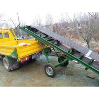 吉林升降挡边输送机 加厚防滑式草捆输送机