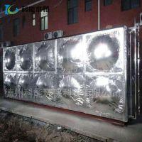 科能304不锈钢水箱厂家直销 消防304水箱定做 橡塑外铝箔保温生活供水设备