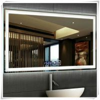 可定制卫生间壁挂镜子 浴室触摸镜智能led灯镜 防雾镜厂家