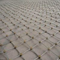 宜昌刚性被动防护网厂家供应 隧道兜山石钢丝绳网价格 山体绿化边坡防护网