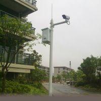 小区、机场监控杆架 安防3-6米钢制监控摄像头立杆别墅工厂监控杆