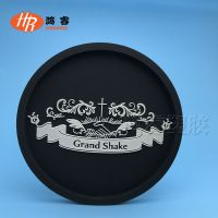 微量射出杯垫 卡通滴胶公仔杯垫 pvc软胶防滑隔热垫定制logo